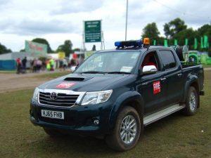 SEL Group Ltd Fire Trucks at V Festival