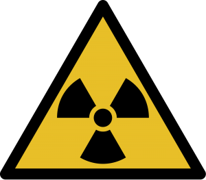 Ionising Radiation Warning Symbol